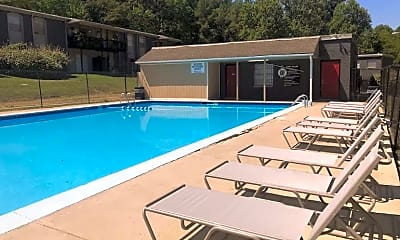Pool, The Willows Apartments, 0