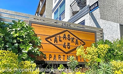 Community Signage, 4546 45th Ave SW, 2