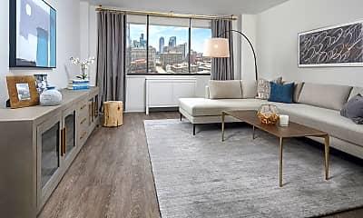 Living Room, 309 W Illinois St, 1