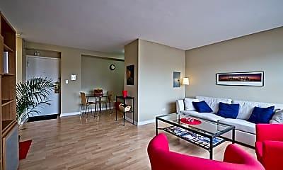 Living Room, 1575 Oak, 0