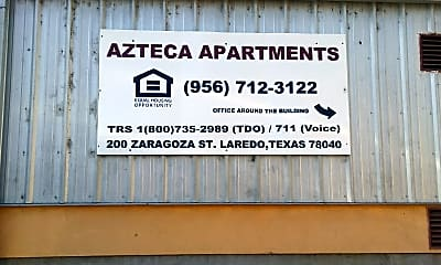Azteca Apartments, 1