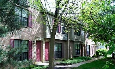 Building, Abington Village, 1