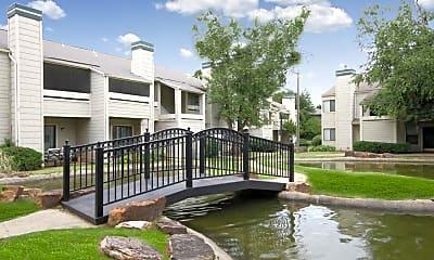 Building, Cedar Lake, 1