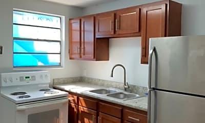 Kitchen, 1006 West 25th Street, Unit 1, 2