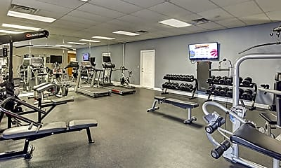 Fitness Weight Room, University Village-Per Bed Lease, 2