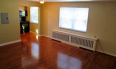 Living Room, Perry Highway Apartments, 1