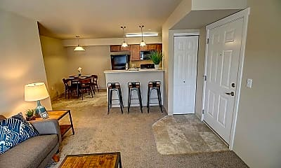 Living Room, Eastgate Apartments, 1