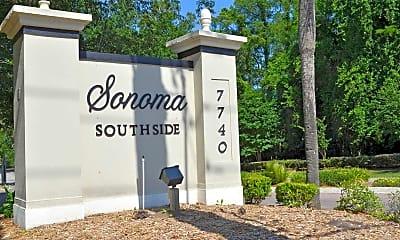 Community Signage, Sonoma Southside, 2
