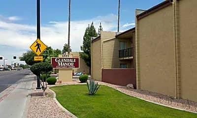 Community Signage, Glendale Manor, 0