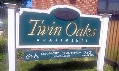 Twin Oaks Apartments, 1