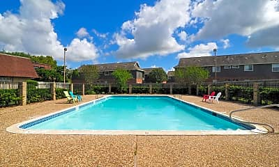 Pool, Oak Hollow Townhomes, 0