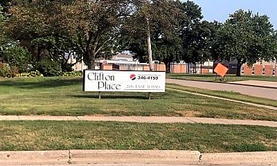 Clifton Place Apartments, 1