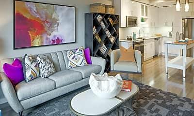 Living Room, Flats 8300, 1