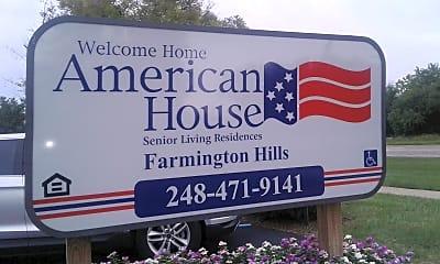 American House Senior Living Residences, 1