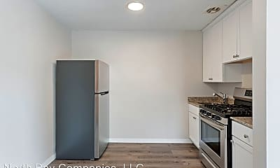 Kitchen, Richlyn Apartments - Affordable Studio Apartments, Great Location!, 1