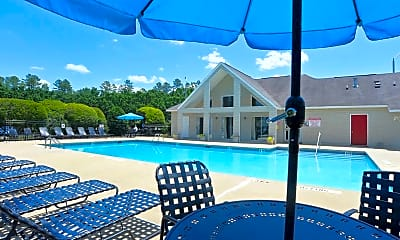 Pool, Crabtree Crossing Apartments and Townhomes, 0