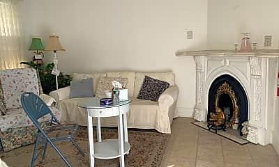 Living Room, 427 Sherman Pl 1, 2