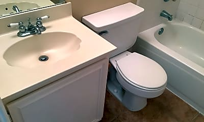 Bathroom, 2101 Flamingo Drive, 2