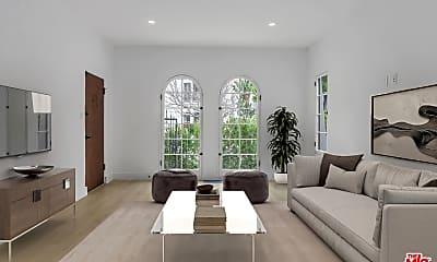 Living Room, 6206 Orange St 1/2, 1