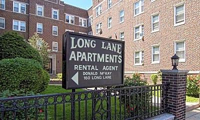 Community Signage, Long Lane Apartments, 2