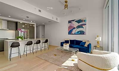 Living Room, 301 West Ave 1508, 1