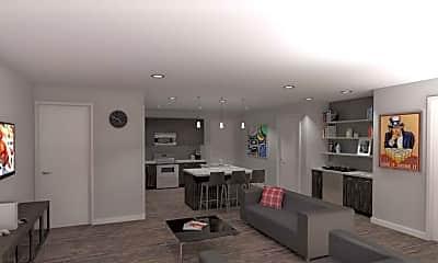 Living Room, Roland Apartments, 1
