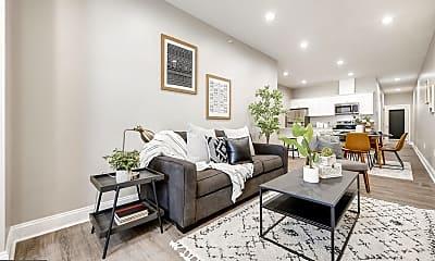 Living Room, 3221 Noble St 5, 0