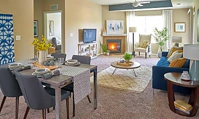 Living Room, The Winhall of Williams Pointe, 0