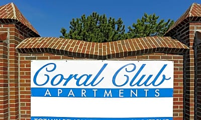 Community Signage, Coral Club of Fort Wayne, 2