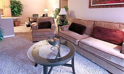 Living Room, Golf Brook Apartments, 1