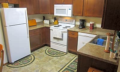 Kitchen, Sheridan Pointe Apartments, 1