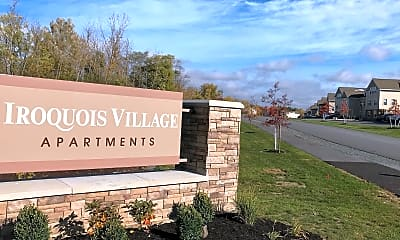 Community Signage, Iroquois Village Apartments, 1