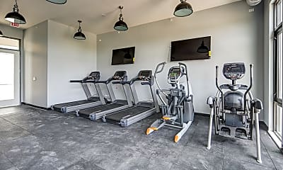 Fitness Weight Room, 101 West, 2