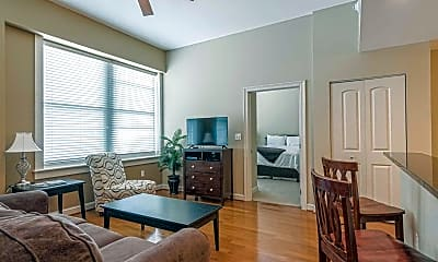 Living Room, King Edward Apartments, 1