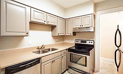 Kitchen, Hogshead Apartments, 1