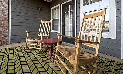 Patio / Deck, The Reserve at North River, 2