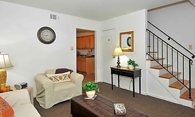 Living Room, Eleven Oaks, 1