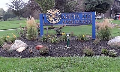 AHEPA 232 I & II Senior Apartments, 1