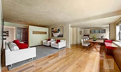 Living Room, 220 E 67th St 2FG, 1