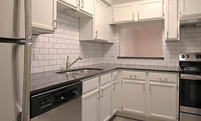 Kitchen, Flats on 7th, 1