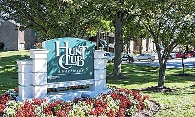 Community Signage, Hunt Club Apartments, 0