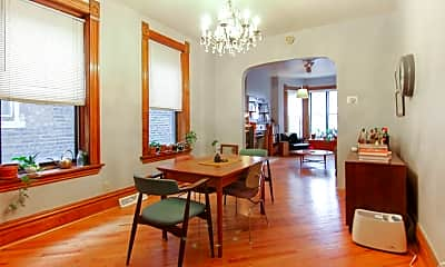 Dining Room, 3143 S Wallace St 1FL, 2