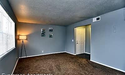 Living Room, 8314 E 25th Pl, 1