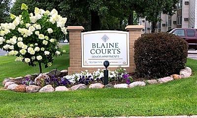 Blaine Courts, 1