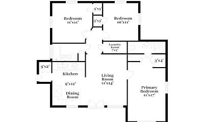 Building, 3025 W Van Buren Dr, 1