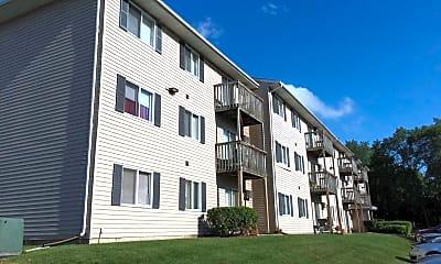 Building, Woodside Park Apartments, 0