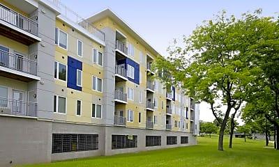Building, Erie Harbor Apartments, 0