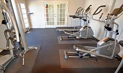 Fitness Weight Room, The Villas @ Hope Valley, 2
