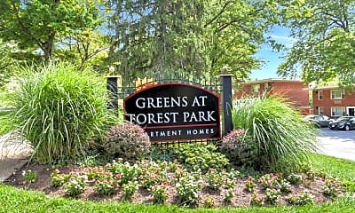 Community Signage, The Greens at Forest Park, 1
