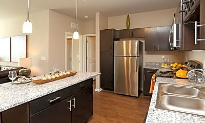 Kitchen, Springs at University Drive, 2